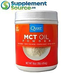 Quest MCT OIL POWDER (454g), 1lb