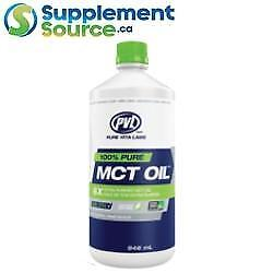 PVL MCT OIL 100% Pure, 946 ml