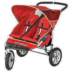 3 Wheel Double Pushchair Ebay