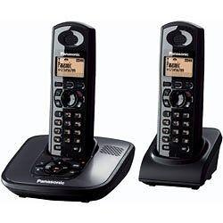Panasonic KXTG6482 - Digital Cordless Phone with answering machine-twin