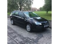 2007 FORD FOCUS EDGE 1.6 TDCI DIESEL ESTATE CAR, 55 MPG,1 OWNER, LONG MOT CHEAP TAX.