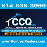 CCQ Inc. Montreal Roofers