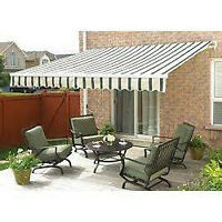 Awning for house 12x10ft new in box not opened