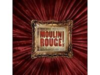Secret Cinema Moulin Rouge ( 3 tickets) £40 each 13 April - must sell today