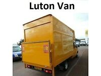 URGENT SHORT NOTICE MAN&LUTON VAN TRUCK HOUSE/OFFICE REMOVAL/MOVING/PIANO/BIKE/DELIVERY/HIRE/COURIER