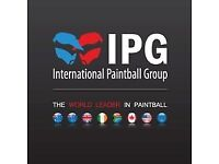 IPG paintball reduced-price tickets - steep discounts