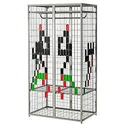 ikea cage metal wardrobe kids childs teen