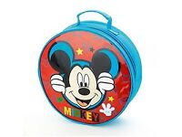 Mickey Mouse Overnight Bag and Wrist Watch Set: Brand New