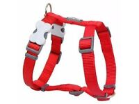 Red Dingo Dog Harness, extra small red