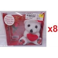 STUFFED TEDDY BEAR AND MUSIC CD GIFT SETS