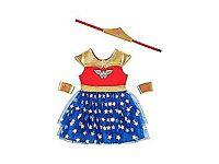 DC Comics Wonder Woman Dress-Up Costume superhero 3-4yrs old kids children