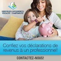COMPTABLES-FISCALISTES- SERVICES PERSONNALISÉS-TENUE DE LIVRES