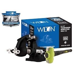 Wilton 63200A Special Edition Tradesman Vise with BASH Hammer