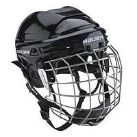 Bauer Hockey Helmet and Cage