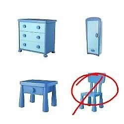 Children's bedroom furniture - Ikea Mammut
