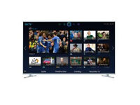 """Samsung UE40H6410 LED HD 1080p 3D Smart TV, 40"""" with Freeview HD, White Boxed with Warranty"""