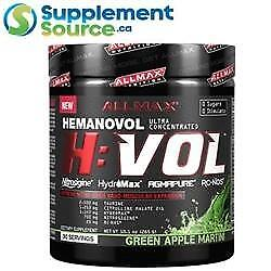 Allmax HVOL, 30 Servings - Green Apple Martini
