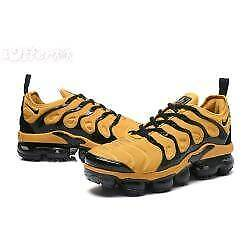 Brand new orange/black Nike Air VaporMax Plus size 10