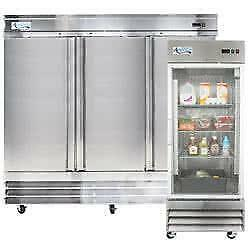 Choose the Best Refrigeration Equipment for Your Food Storage, Cooling, and Preparation Needs - New & Used Available!