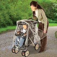 Housse imperméable pour poussette/ Weather shield for Stroller