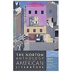 the norton anthology of american literature shorter 9th edition vol 2