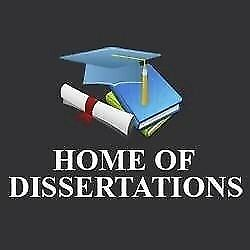 Phd dissertation help gumtree