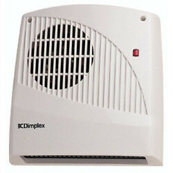 DIMPLEX FX20V DOWN FLOW BATHROOM 2KW FAN HEATER