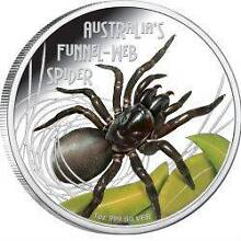 Funnel Web Spider from the Perth Mint Deadly and Dangerous series Prospect Blacktown Area Preview