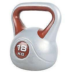 2 X 18kg Kettlebells York Fitness