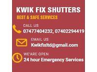 Kwikfix Shutters - New Shop Front UK | Shop Shutter Repair East and North London