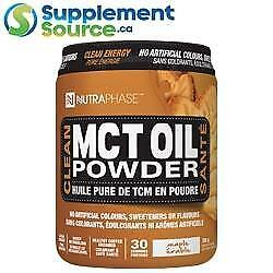 Nutraphase MCT OIL POWDER, 300g - Choose from 2 Flavours