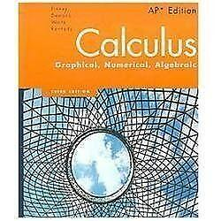 Calculus Graphical Numerical Algebraic | eBay