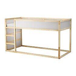 IKEA KURA children's reversible bunk bed - single size