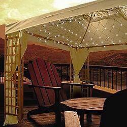 Gazebo net lights