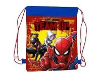 PET-CO: OFFICIAL SPIDERMAN TEAM UP PULL STRING BAG