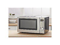 Tesco Grill Microwave MGP2016, 17L - Stainless Steel