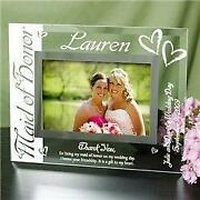 Maid of Honor Picture Frame