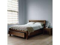 John Lewis Halstead Walnut bedroom furniture
