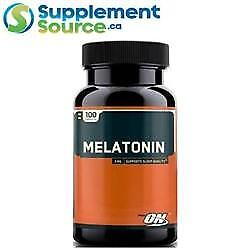 Optimum Nutrition MELATONIN (3mg), 100 Tablets