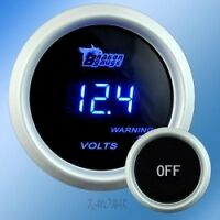 volt gauge + tach 12,000 rpm + universal gauge holder