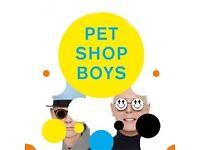 Pet Shop Boys - Fantastic Seats x2 - Bournemouth BIC - Sunday 26th Feb