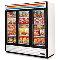 Glass Door Merchandizer Freezer TRUE GDM 72F