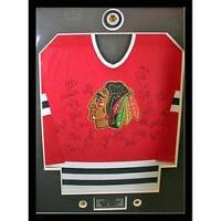 1999 Chicago Blackhawks Framed Team-Signed Jersey - 23 Signature