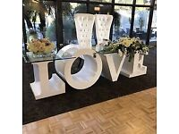 Wedding love table HIRE
