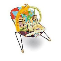 Chaise vibrante fisher price. État neuf