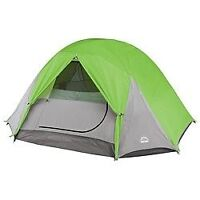 4 PERSON TENT AND 2 TWIN AIR MATRESS