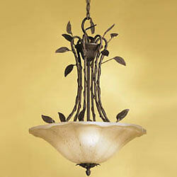 NEW Inverted Conservatory Bowl PENDANT 3 Light by KICHLER