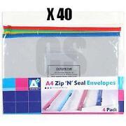 Plastic Zip Folders