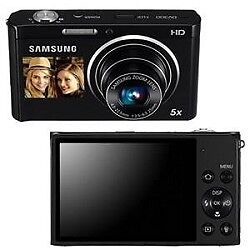 Samsung DV300F 16 MP 5X Wi-Fi Dual View  Digital Camera - Black