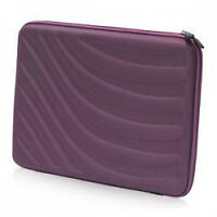 15.6-inch Yorkville Laptop Hard Case Purple with embossed design
